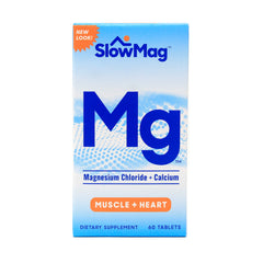 Slow Mag Magnesium Chloride and Calcium 60 Tablets