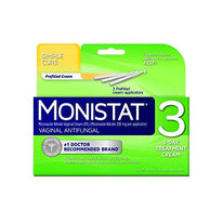 Monistat 3 Vaginal Antifungal Cream Prefilled 5gm Applicators 3 in