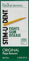 Stim-U-Dent Plaque Removers Mint 100 Each