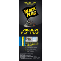 Black Flag Window Fly Trap Catches All Flying Insects 4 Traps