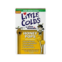 Little Colds Honey Pops For Childrens Cough 10 Pops
