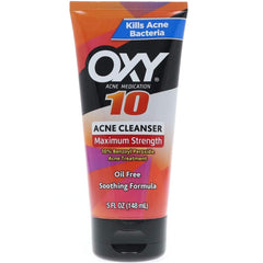 Oxy Acne Medication Maximum Action Advanced Face Wash 5 Ounce Each