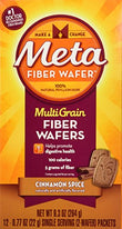 Metamucil MultiGrain Fiber Wafers Cinnamon Spice 24