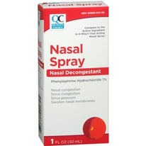 Quality Choice 4 Way Acting Nasal Spray 1 Ounce Each