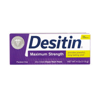 Desitin Diaper Rash Maximum Strength Paste 4 Ounce tube