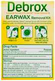 Debrox Drops Earwax Removal Aid Kit - 15 ml Drops with Bulb Syringe