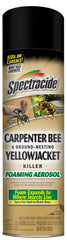 Spectracide Carpenter Bee & Nesting Yellowjacket Killer Spray 16 Ounce Each