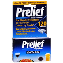 Prelief Acid Reducer Tablets, 120 Count