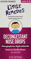 Little Noses Decongestant Nose Drops 0.5 Ounce Each