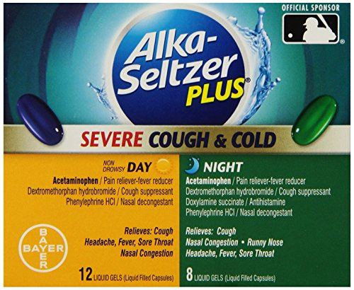 Alka-seltzer Plus Severe Cough and Cold Day/Night Liquid