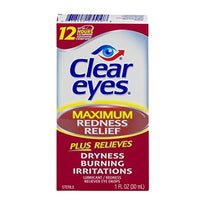 Clear Eyes Maximum Redness Relief Eye Drops 1 Ounce