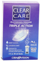 Clear Care Cleaning & Disinfection Solution Travel Pack 3 fl  Ounce (90 mL) Each