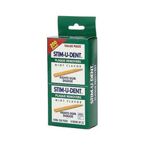 Stim-U-Dent Plaque Removers Mint Flavor, Fights Gum Disease - 200 Count Value Pack