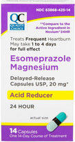 Quality Choice Acid Reducer Delayed Release 14 Capsules