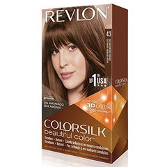 Revlon ColorSilk Beautiful Permanent Hair Color (43) Golden Brown