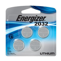 Energizer 2032, ECR 2032, CR2032 3 Volt Lithium 4 Cell Blister Pack