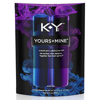 K-Y Yours and Mine Couples Lubricant 3 Ounce per Package