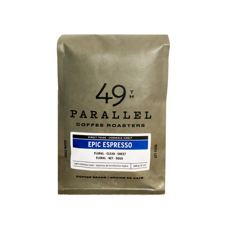 Epic Espresso - Intensité 2/5, Grains de café, 49th Parallel Coffee Roasters - Caffè in Gamba