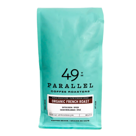 Mélange Français Bio - Intensité 5/5, Grains de café, 49th Parallel Coffee Roasters - Caffè in Gamba