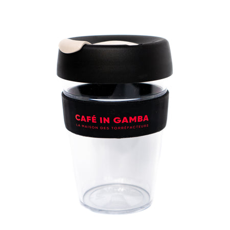KeepCup IN GAMBA en plastique - bouchon gris, , Caffè in Gamba - Caffè in Gamba