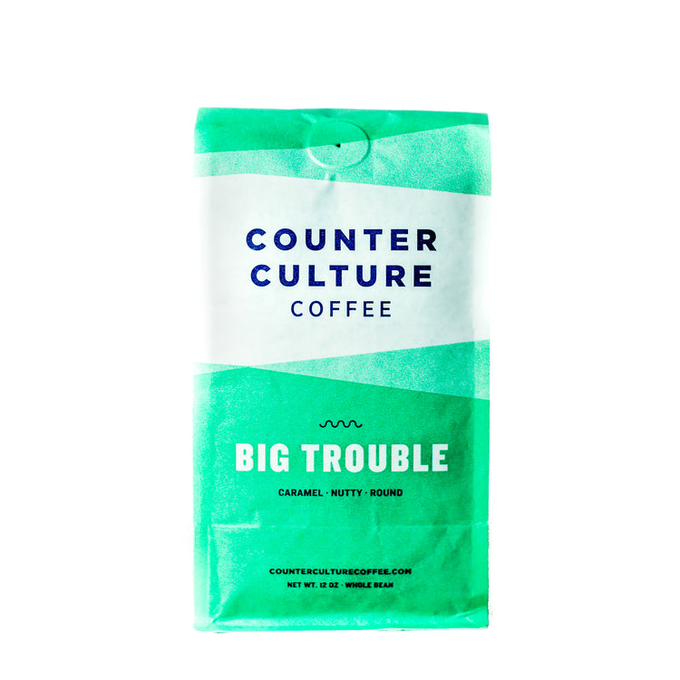 Big Trouble - Intensité 3/5, Grains de café, Counter Culture Coffee - Caffè in Gamba