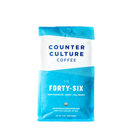 Forty-Six Bio - Intensité 5/5, Grains de café, Counter Culture Coffee - Caffè in Gamba