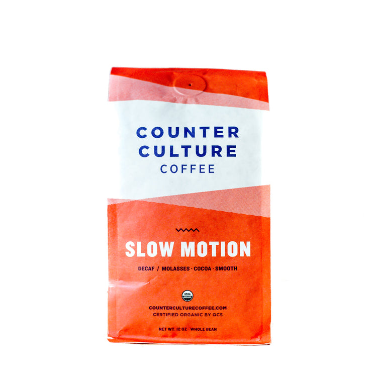 Slow Motion Décaf Bio - Intensité 4/5, Grains de café, Counter Culture Coffee - Caffè in Gamba