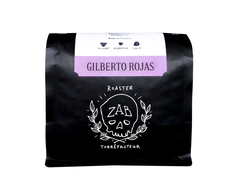NOUVEAU - Colombie, Gilberto Rojas - Intensité 3/5, Grains de café, ZAB Café - Caffè in Gamba