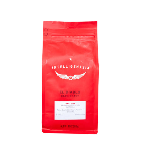 El Diablo Dark Roast - Intensité 4/5, Grains de café, Intelligentsia Coffee - Caffè in Gamba