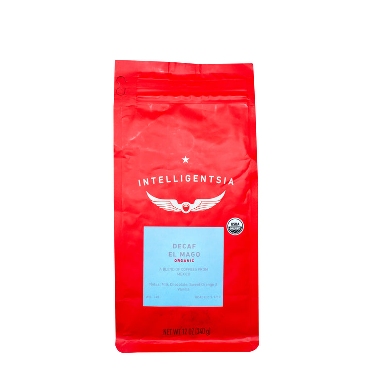El Mago Blend Décaf Bio - Intensité 3/5, Grains de café, Intelligentsia Coffee - Caffè in Gamba