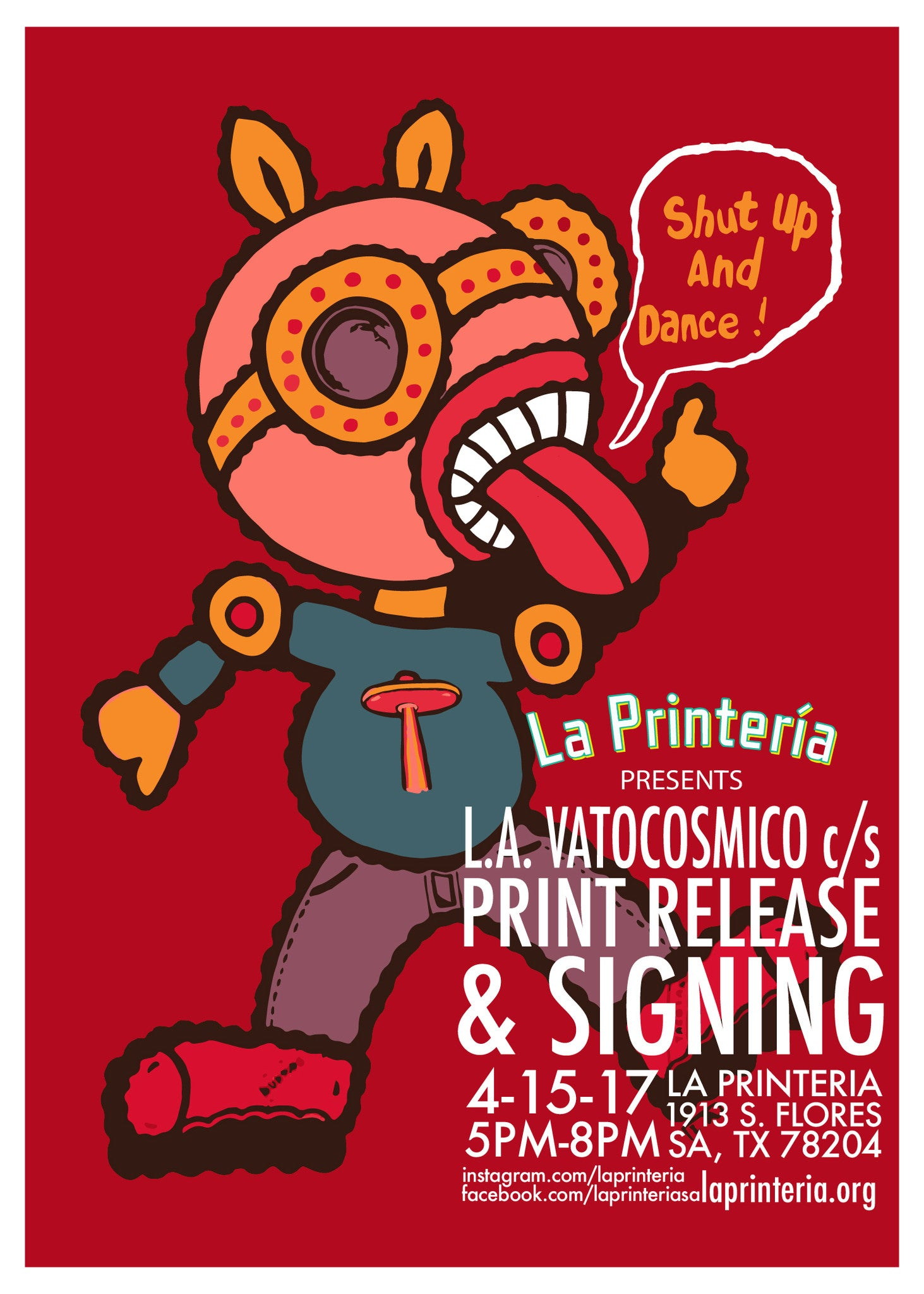 L.A. Vatocosmico Print Release & Signing