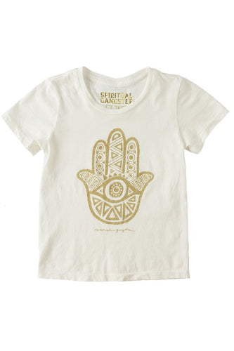 Spiritual Gangster Childrens Gold Logo Tee
