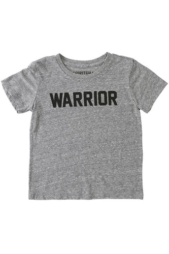 Warrior kids tee