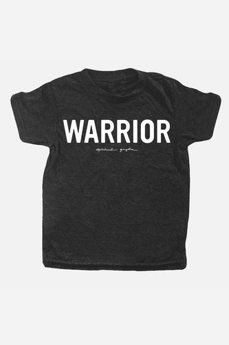 Kids Warrior Tee Vintage Black