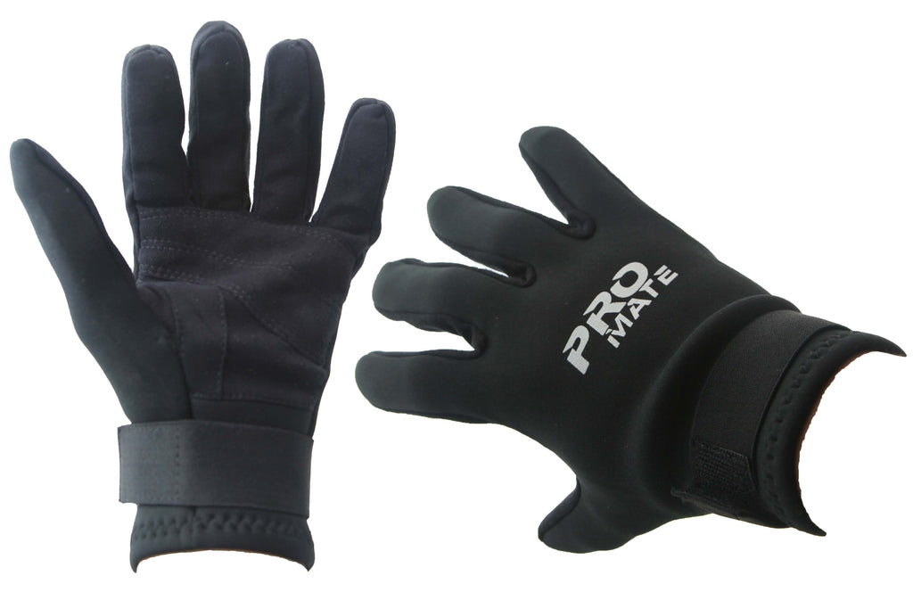 Promate 1.5mm Amara Palm Warm-Water Scuba Diving Snorkeling Surfing Gloves - GL612