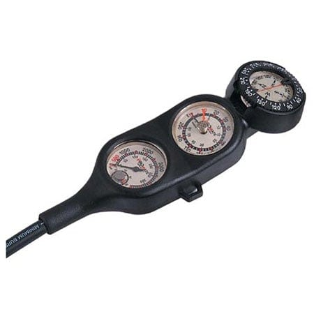 Promate Dual Dial 4-Gauge Console, Pressure Depth Compass Temperature - GP400
