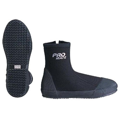 Promate 6.5mm Polaris Cold Water Scuba Dive and Water Sports Zipper Boots - LB646