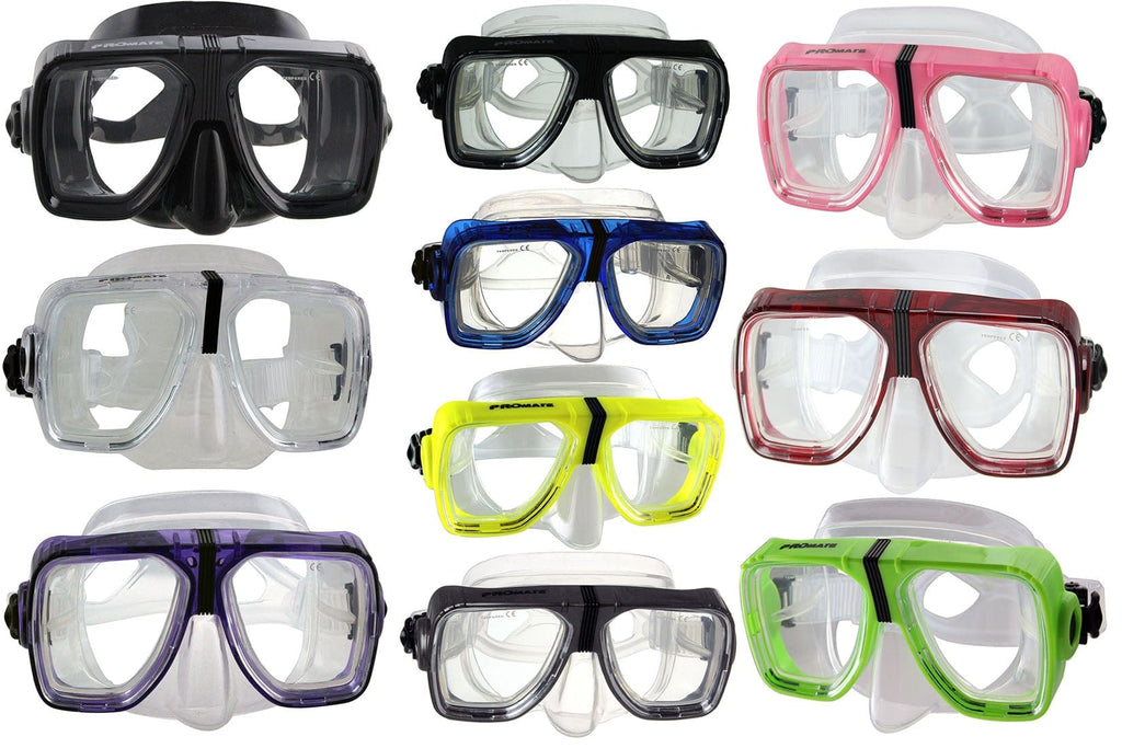 Promate Scope Dive Mask for Snorkeling Scuba Diving Swimming - MK245