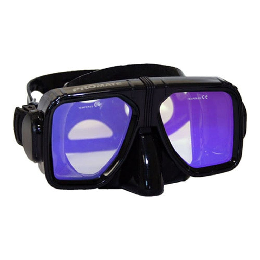 Promate Scanner Color Corrective Scuba Diving Snorkeling Spearfishing Mask - MK245V