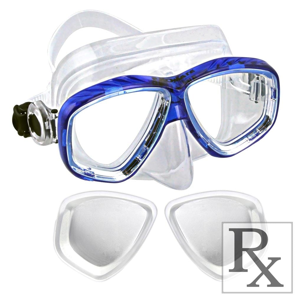 Promate Sea Slender Dive Mask with Prescription R/X for Scuba Diving Snorkeling - MK275 RX