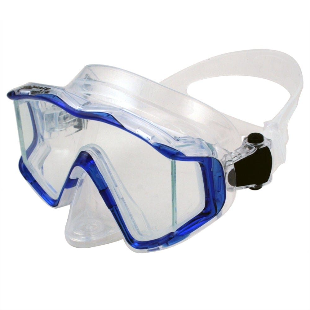 Promate NEW Three-Lenses Edgeless Scuba Dive PURGE Mask - MK399