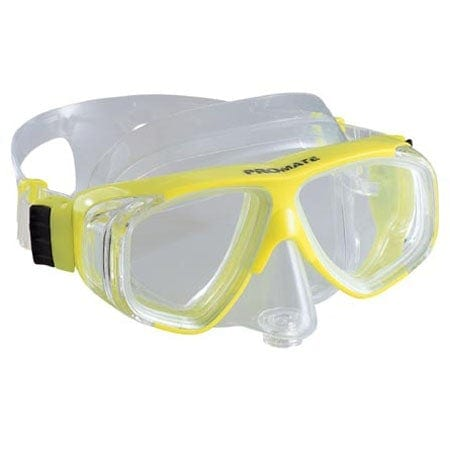 Promate Super Viewer 4-window Scuba Dive Purge Mask - MK480