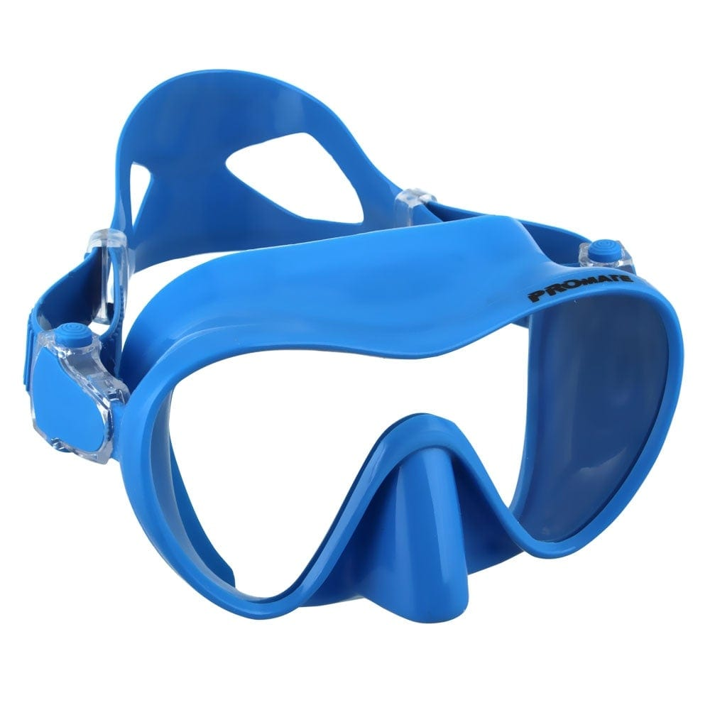 Promate Stealth Frameless Scuba Diving Snorkeling Spearfishing Mask - MK600