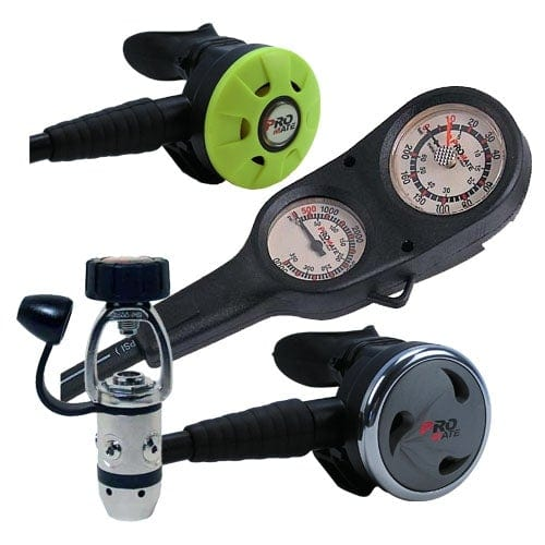 Scuba Dive Regulator Gauge Octopus Gear Package - GP200+OC400+OC450+RG050