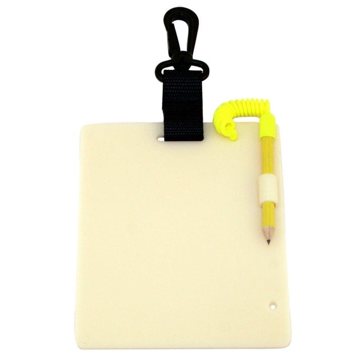 "Promate 6"" * 5"" Underwater Writing Slate for Scuba Dive - Small (Glow in the Dark) - WS060-GW"
