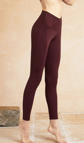Yoga Pants Anika - Dark Purple