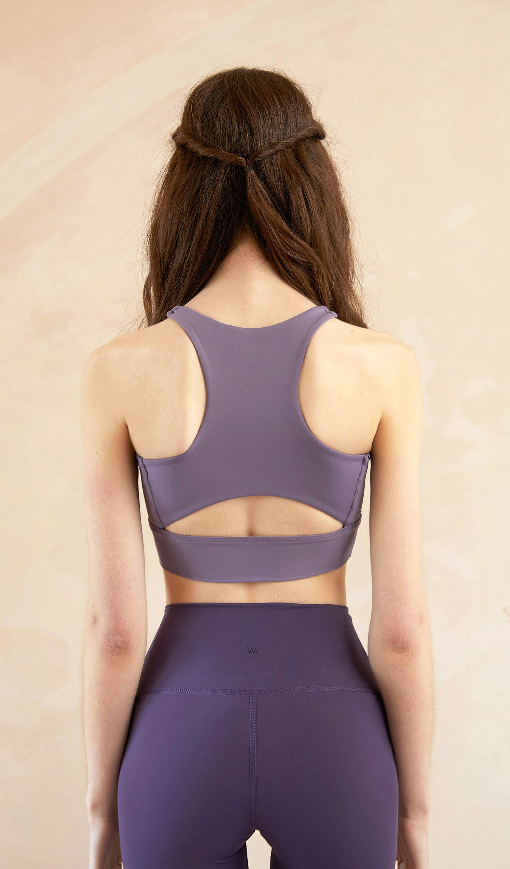 Yoga Top Josie - Light Purple