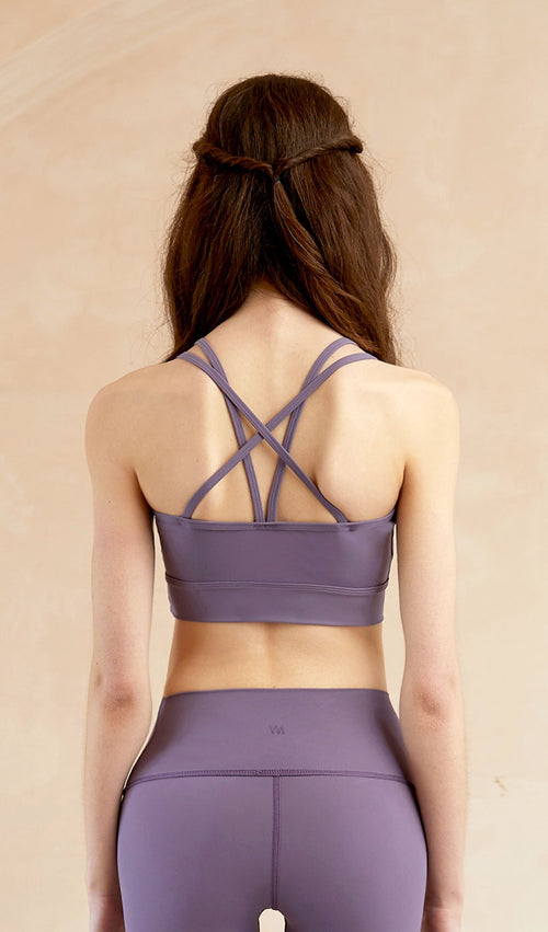 Yoga Top Evelyn - Light Purple