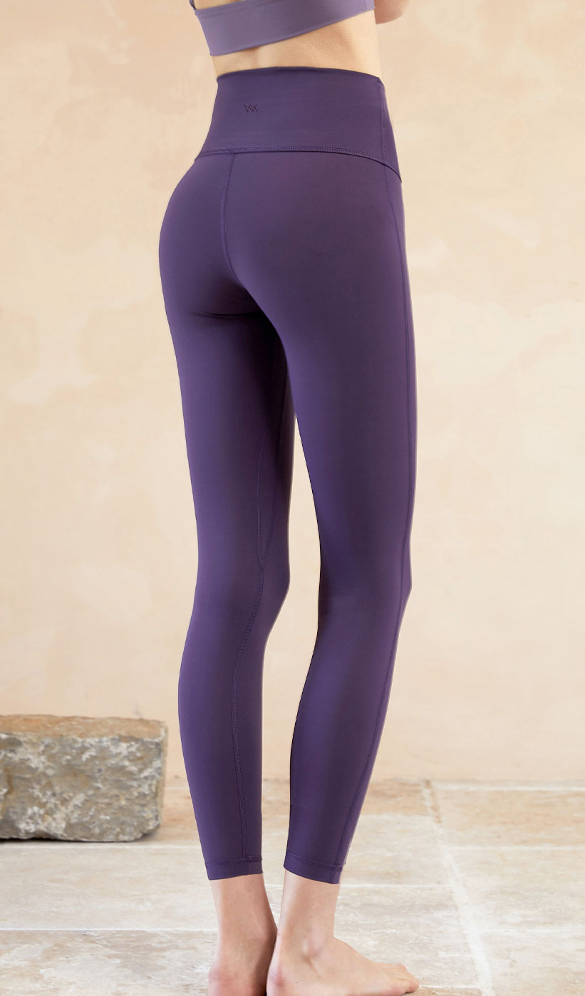 Yoga Pants Lyla - Dark Purple