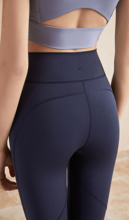 Yoga Pants Lyla - Dark Blue